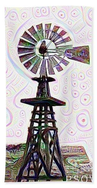 Windmill 1 Hand Towel