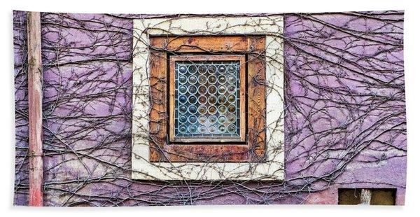 Window And Vines - Prague Hand Towel