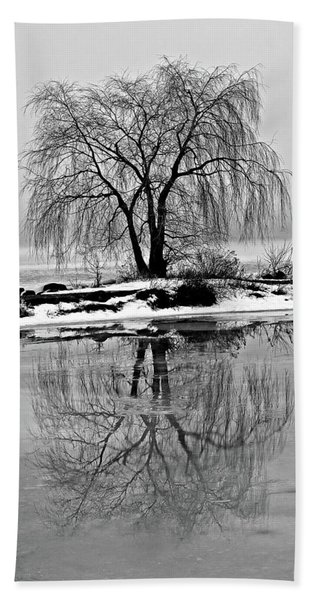 Winter Reflections Hand Towel
