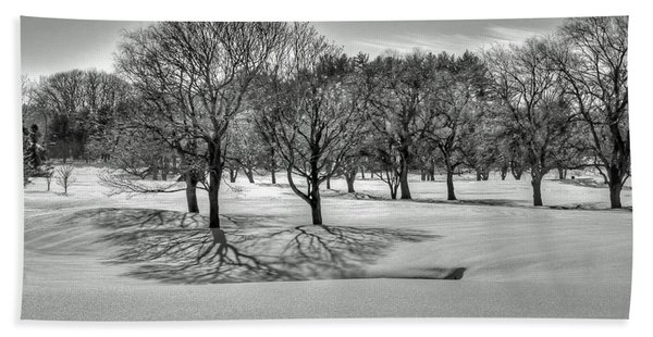 Winter Trees Hand Towel
