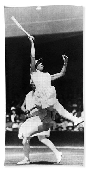 Women's Tennis At Wimbledon Bath Towel