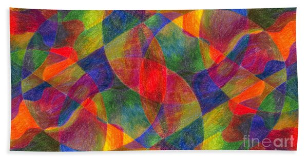 Worlds Within Worlds Hand Towel