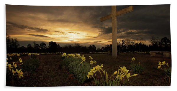 Wye Mountain Sunset Hand Towel