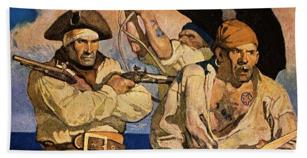 Wyeth: Treasure Island Bath Towel