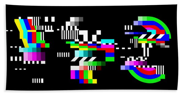 Bath Towel featuring the digital art YES by Bee-Bee Deigner