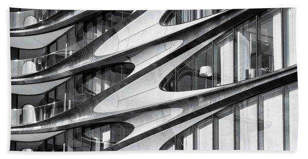 zaha hadid Architecture in NYC Bath Towel