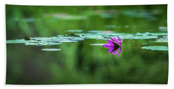 Zen Blossom Bath Towel