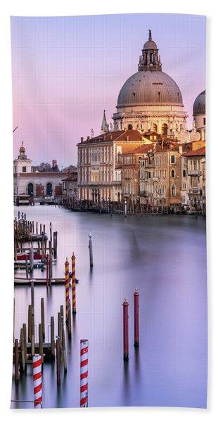Evening Light In Venice Hand Towel