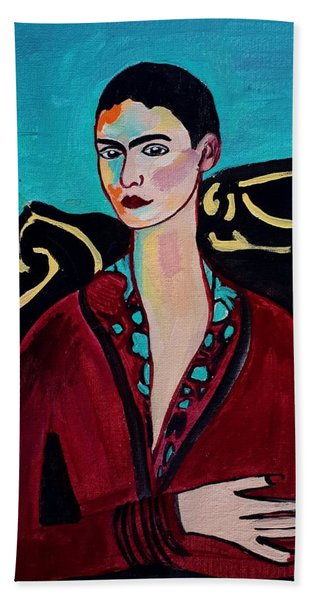 Frida Kahlo. Hand Towel