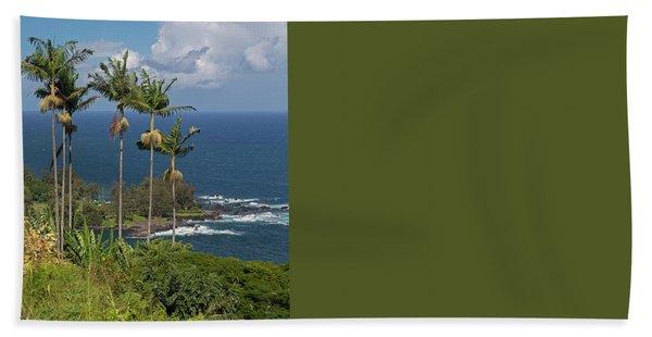 Hawaii Big Island Hand Towel