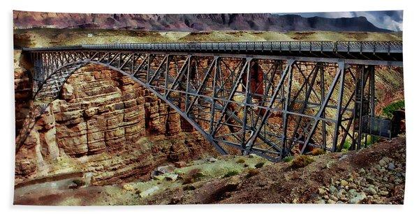 Navajo Bridge Bath Towel