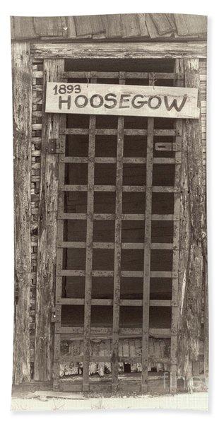 1893 Hoosegow Hand Towel