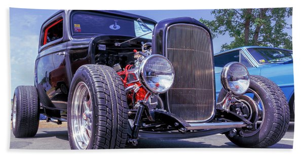 1932 Ford 3 Window Coupe Hot Rod Hand Towel
