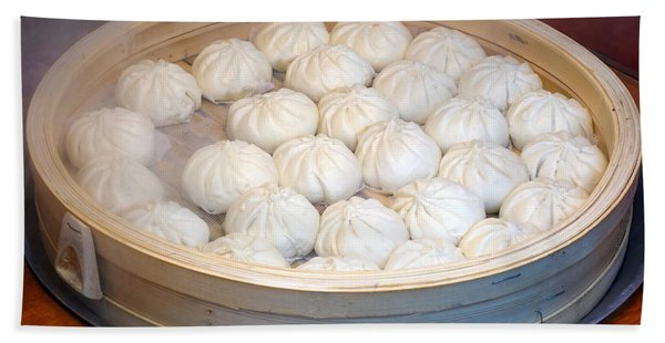 Chinese Steamed Buns Hand Towel
