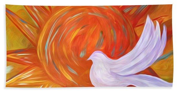 Healing Wings Hand Towel