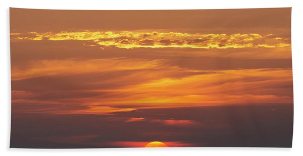 Sunset Bath Towel