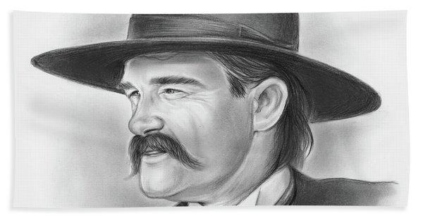 Wyatt Earp Hand Towel