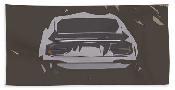 Nissan Fairlady Z432 Abstract Design Hand Towel