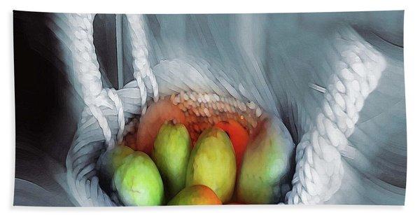 Abstract Fruit Art   104 Bath Towel