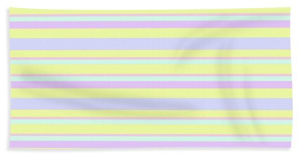 Abstract Horizontal Fresh Lines Background - Dde596 Bath Towel