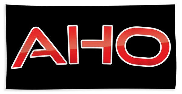 Aho Bath Towel