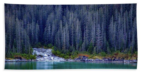 Alaskan Coastline Beauty Hand Towel
