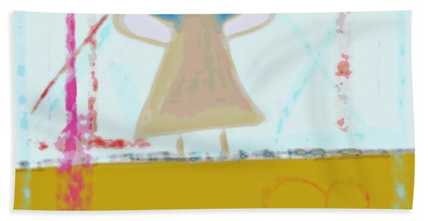 Angel Of Grace Hand Towel