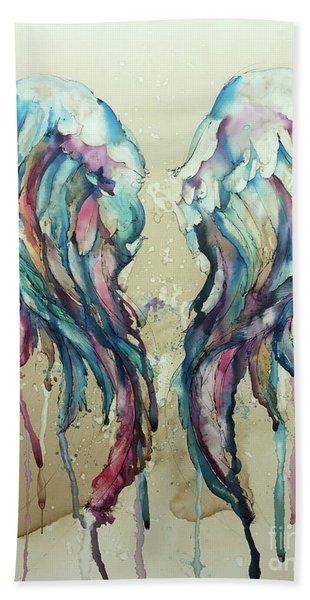 Angel Wings Hand Towel