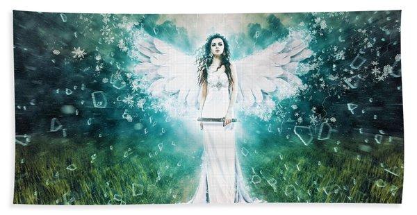 Anger Of The Goddess Hand Towel