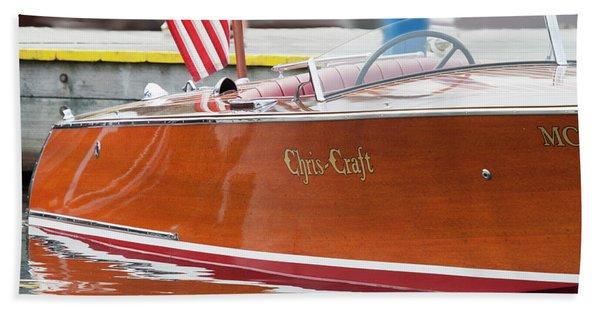 Antique Wooden Boat 1305 Bath Towel