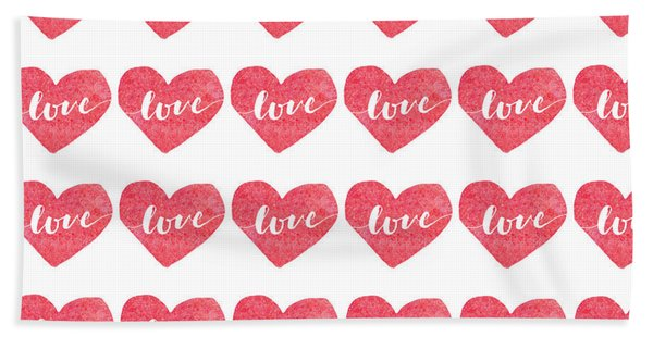 Love Is In The Air Hand Towel