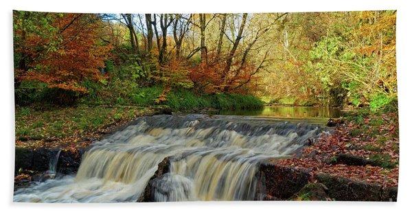 Autumn Flow Bath Towel