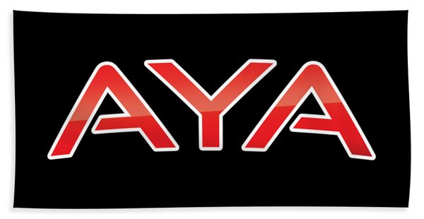 Aya Bath Towel