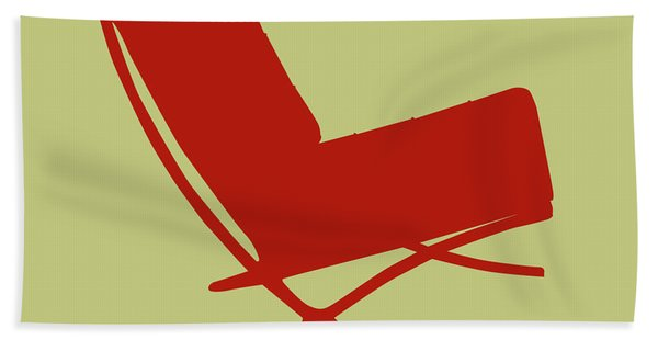 Barcelona Chair  Hand Towel