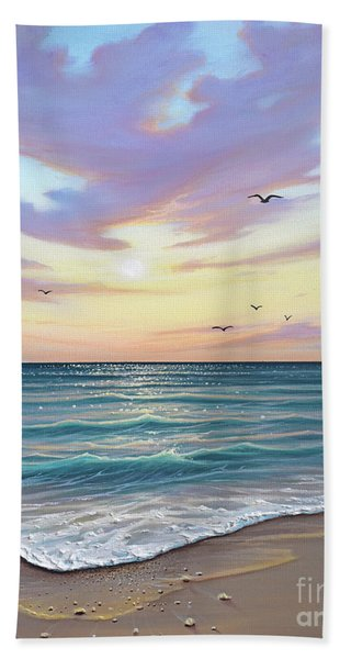 Basking In The Sunset Bath Towel