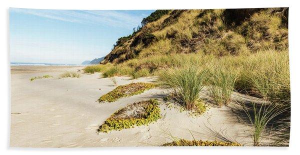 Beach Vegetation Bath Towel