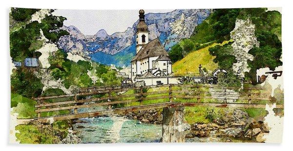 Berchtesgaden Hand Towel