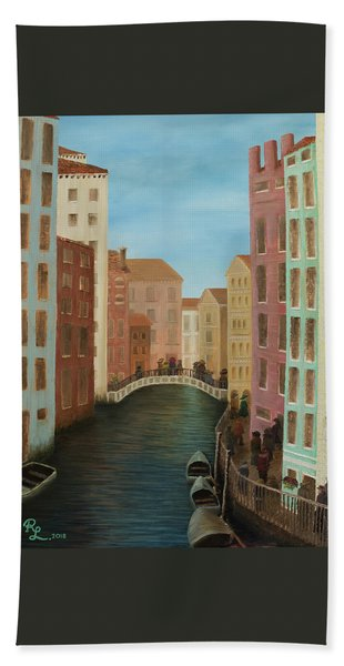 Beyond The Grand Canal Bath Towel