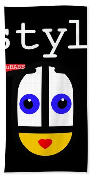 Black Style Ubabe Hand Towel