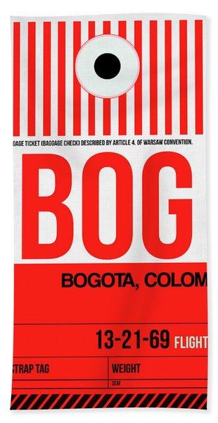 Bog Bogota Luggage Tag I Hand Towel