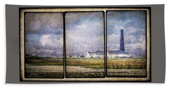 Bolivar Lighthouse Triptych 1 Hand Towel