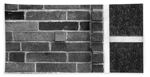 Brick And Glass - 2 Hand Towel