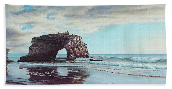 Bridge Rock Bath Towel