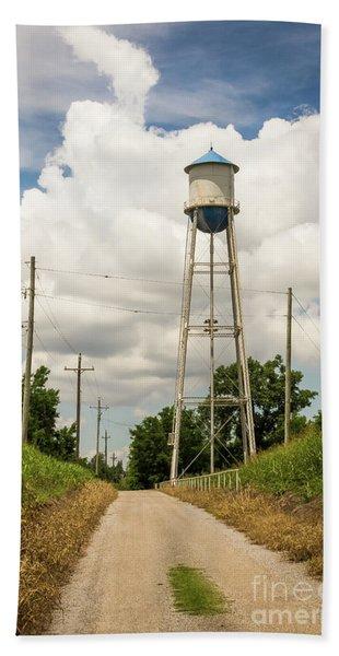 Bridgeport Water Tower  Bath Towel