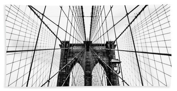 Brooklyn Bridge Web Bath Towel