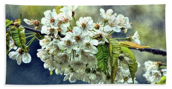 Budding Blossoms Bath Towel