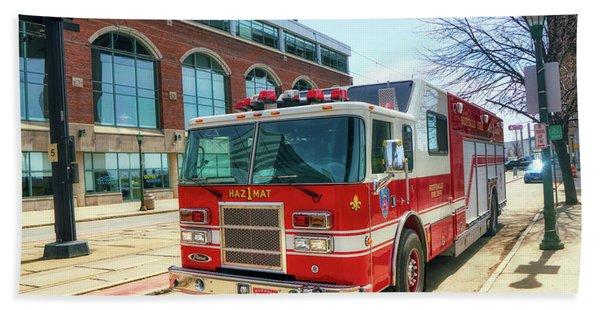 Buffalo Fire Dept Haz1mat Bath Towel