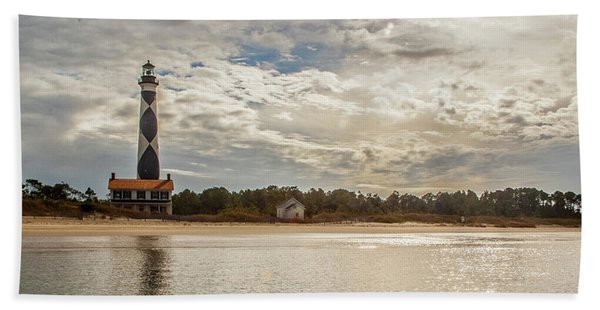 Cape Lookout Lighthouse No. 3 Hand Towel