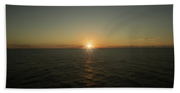 Caribbean Sunset Bath Towel