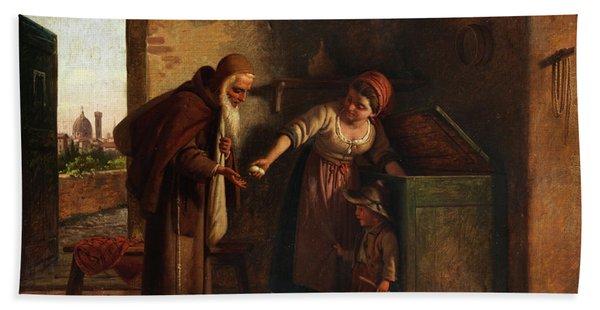 Caritas, Charity Hand Towel